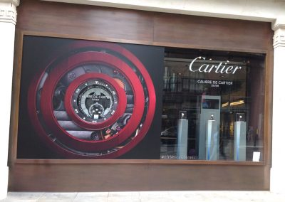 Cartier – Diver Watch Window Display