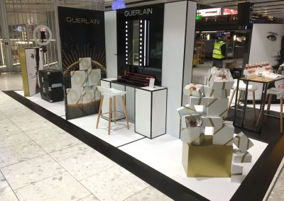 Overview of the Guerlain display