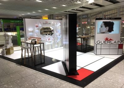 Overview of the Mon Guerlain display