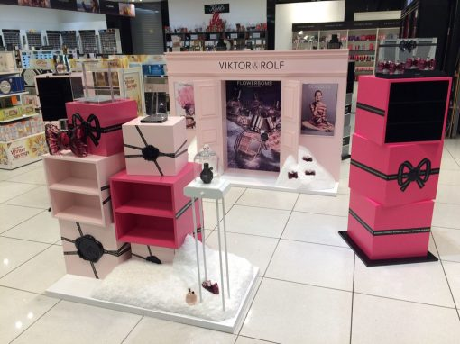 Viktor & Rolf Flower Bomb – Retail Display