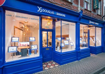 Douglas & Simmons window illuminated displays