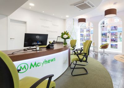Mayhews Estate Agents – Displays and Furniture