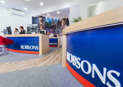 Robsons Estate Agents – Bespoke Furniture
