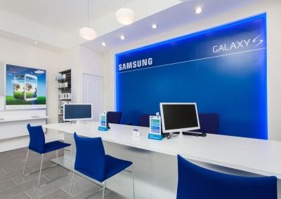 Samsung – Shop Interior