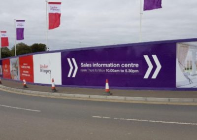 Taylor Wimpey – Construction Signage