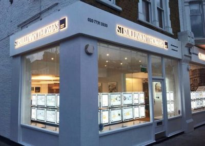 Illuminated window displays
